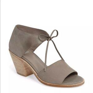 Shoes - Eileen Fisher Ann Ankle Tie Sandal in Moon